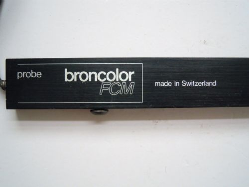 SINAR CAMERA BOOSTER BRONCOLOR FCM SPOT METERING PROBE